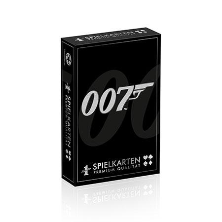 Number 1 Spielkarten - James Bond