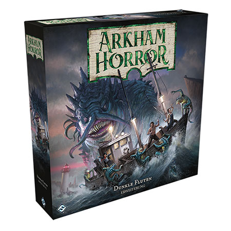 Arkham Horror 3. Edition - Dunkle Fluten Erweiterung