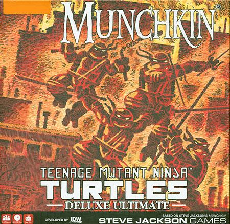 Munchkin Teenage Mutant Ninja Turtles - Deluxe Ultimate Edition (engl.)