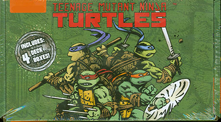 Munchkin Teenage Mutant Ninja Turtles - Deck Box Set (4er Set)