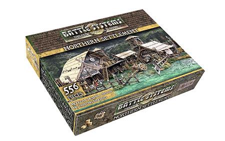 Battle Systems - Fantasy Terrain - Nördliche Siedlung