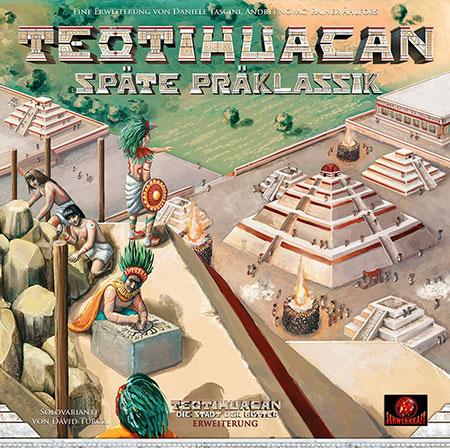 Teotihuacan - Späte Präklassik Erweiterung