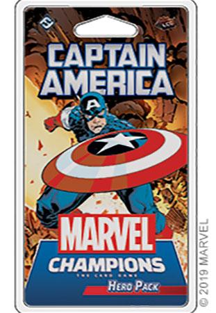 Marvel Champions - Das Kartenspiel - Captain America Erweiterung