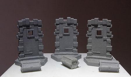 Perdition´s Mouth: Abyssal Rift - Truhen- & Türen-Miniaturen-Set