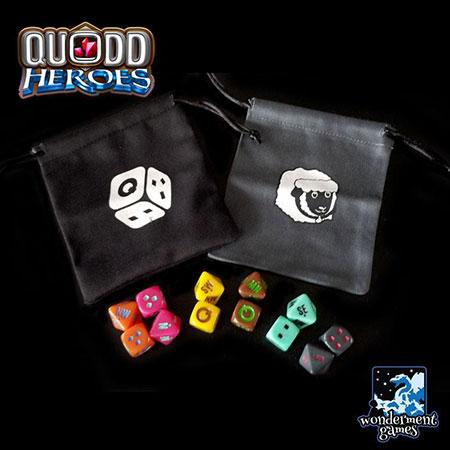 Quodd Heroes - Beutel- und Würfel-Pack