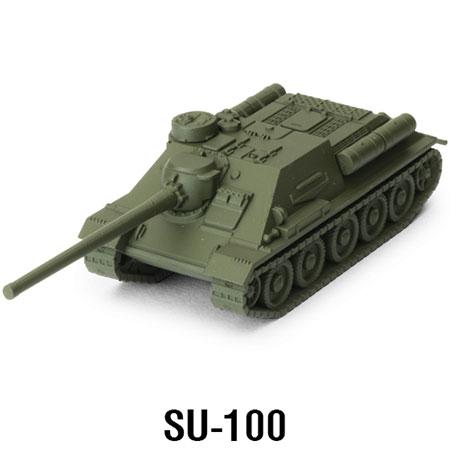 World of Tanks - Das Miniaturenspiel - SU-100 Erweiterung (Soviet) (Wave 1)