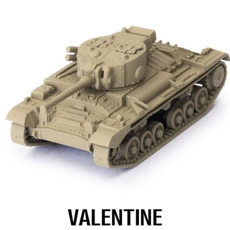 World of Tanks - Das Miniaturenspiel - Valentine Erweiterung (British) (Wave 1)