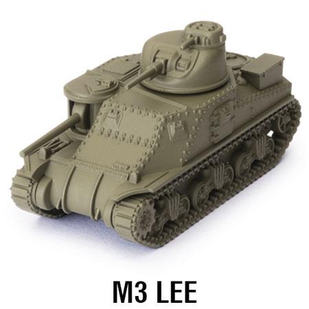 World of Tanks - Das Miniaturenspiel - M3 Lee Erweiterung (American) (Wave 1)