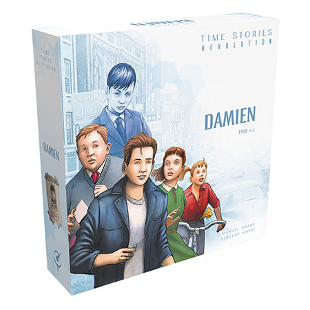 T.I.M.E Stories Revolution - Damien 1958 N.Z.