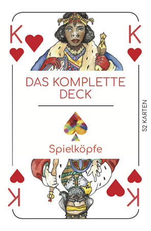 Spielköpfe - Das komplette Kartendeck