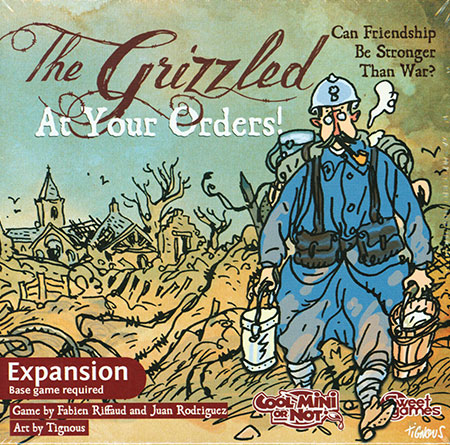 The Grizzled (Les Poilus) - At Your Orders Erw.(engl. inkl. dt. PDF-Anleitung)