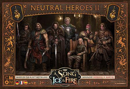 A Song of Ice & Fire - Neutrale Helden II Erweiterung