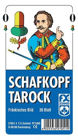Schafkopf/Tarock - Fränkisches Bild - Großpack (10 Stück)