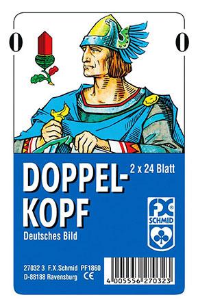 Doppelkopf - Deutsches Bild - Großpack (10 Stück)