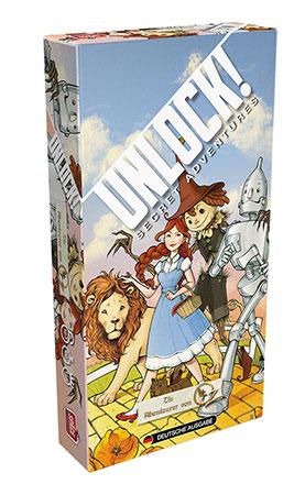 Unlock! - Secret Adventures - Die Abenteurer von Oz (Einzelszenario)