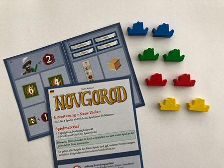 """Novgorod - """"Neue Ziele"""" Erweiterung"""