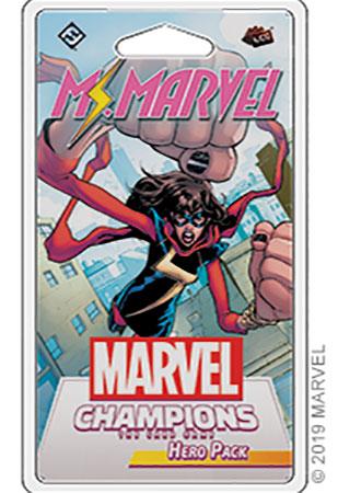 Marvel Champions - Das Kartenspiel - Ms. Marvel Erweiterung