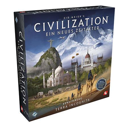 Civilization - Ein neues Zeitalter - Terra Incognita Erweiterung