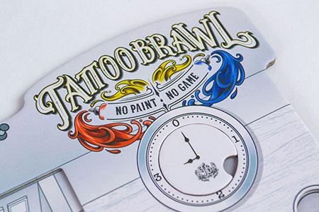 Tattoo Brawl - Retail Version 1