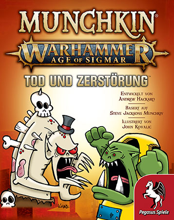 Munchkin Warhammer 40.000 - Age of Sigmar - Tod und Zerstörung Erweiterung