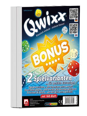 Qwixx - Bonus - 2 Zusatzblöcke