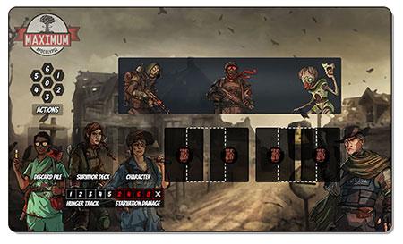 Maximum Apocalypse - Premium Spielmatte (engl.)