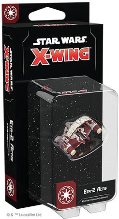 Star Wars: X-Wing 2.Edition - Eta-2 Actis Erweiterungspack