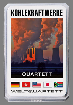 Kohlekraftwerke Quartett