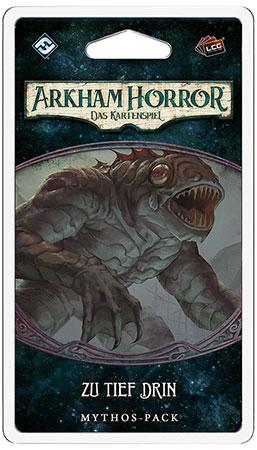 Arkham Horror - Das Kartenspiel - Zu tief drin Mythos-Pack (Innsmouth 1)