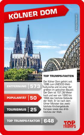TOP TRUMPS - 30 eindrucksvolle Highlights Deutschlands