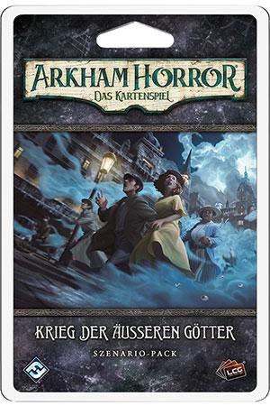 Arkham Horror - Das Kartenspiel - Krieg der Äußeren Götter Szenario-Pack