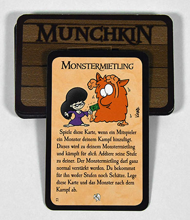 Munchkin - Monstermietling Sondererweiterung