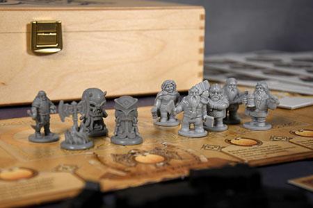 Die Zwerge inkl. Saga Erweiterung in Deluxe Holzbox