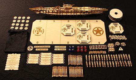 Type7 - Die U-Boot-Krieg Simulation mit 3D U-Boot aus Holz