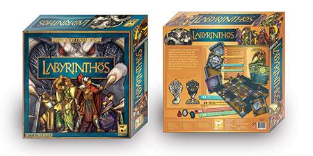 Labyrinthos Board Game (EN)