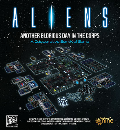 Aliens Core Game: Another Glorious Day In The Corps (engl.)
