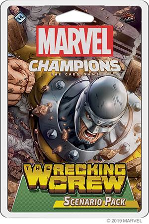 Marvel Champions - Das Kartenspiel - The Wrecking Crew Erweiterung