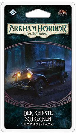 Arkham Horror - Das Kartenspiel - Der reinste Schrecken Mythos-Pack (Innsmouth 3)