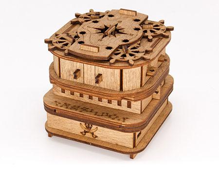 Cluebox Davy Jones - Ein 60 min Escape Room in einer Box