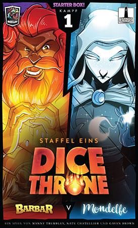 Dice Throne - Barbar vs. Mondelfe