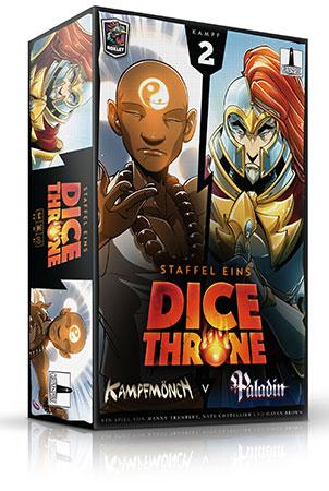 Dice Throne - Kampfmönch vs. Paladin
