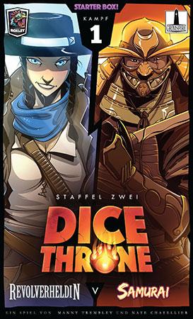 Dice Throne - Revolverheldin vs. Samurai