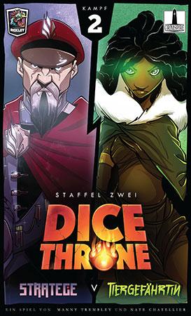 Dice Throne - Stratege vs. Tiergefährtin