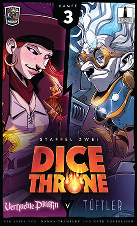 Dice Throne - Tüftler vs. Verfluchte Piratin