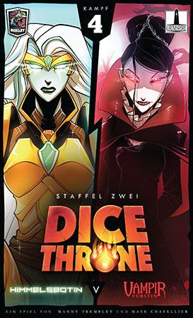 Dice Throne - Himmelsbotin vs. Vampirfürstin