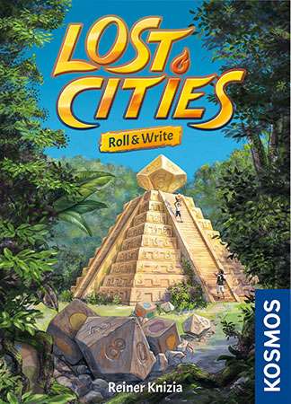 Lost Cities - Roll & Write