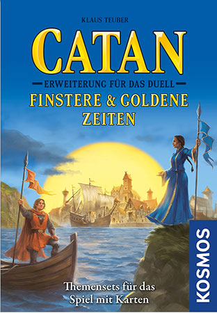 Catan - Das Duell - Finstere & Goldene Zeiten Erweiterung