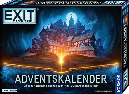 EXIT - Das Spiel: Adventskalender - Die Jagd nach dem goldenen Buch - 2021
