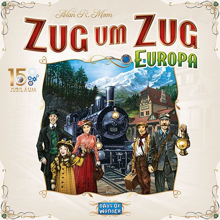 Zug um Zug Europa - 15 Jahre Edition