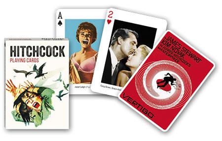 Kartenspiel - Alfred Hitschcock